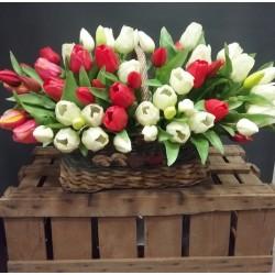 Pomo de tulipanes