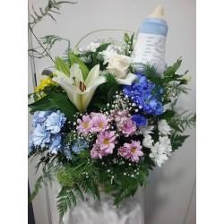 Cistella de flor naixement