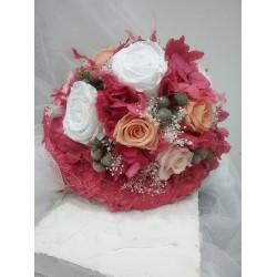 Ramo de novia con flor...