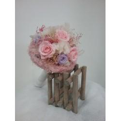 Ramo de novia flor liofilizada