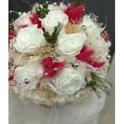 Ramo liofilizado de rosas