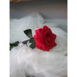 Rosa roja liofilizada grande