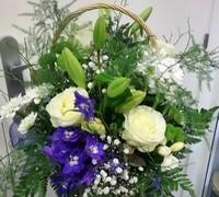 Floristería en Terrassa especializada en cestas de flores y montajes